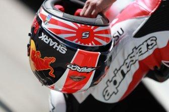 Helmet of Johann Zarco, Team LCR Honda