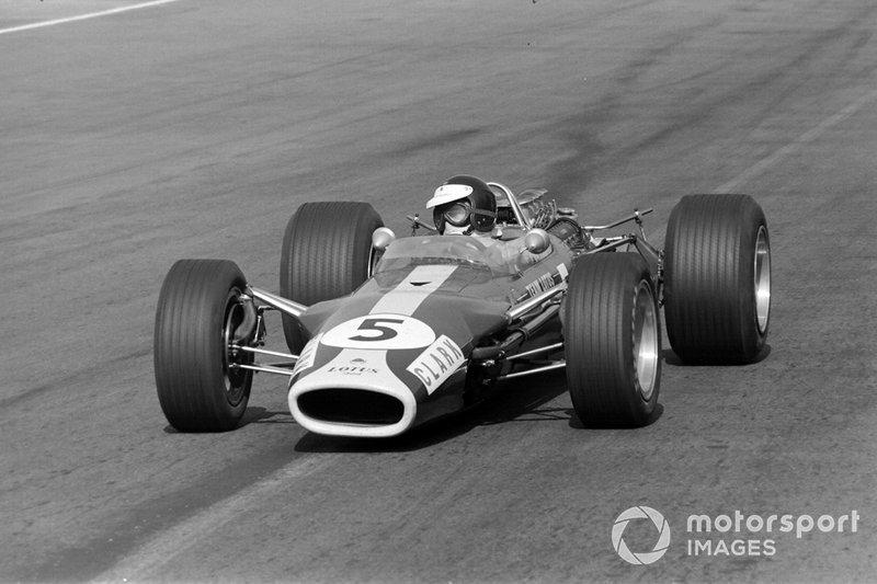 Jim Clark, Lotus, al GP del Messico del 1966