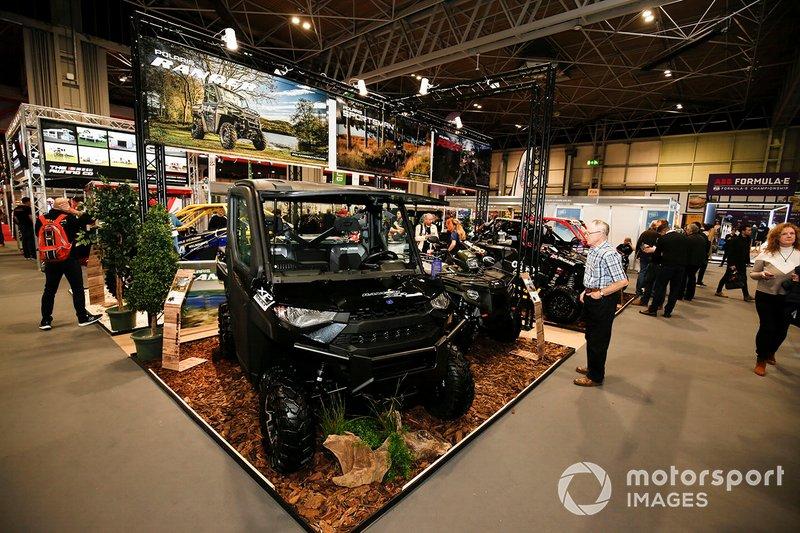 La exhibición del Autosport International