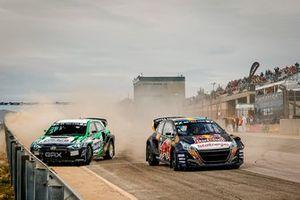 Krisztián Szabó, GRX-SET World RX Team Hyundai i20, Kevin Hansen, Hansen World RX Team Peugeot 208