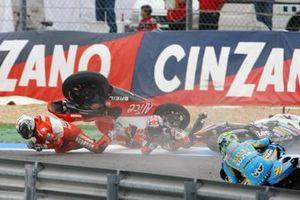 Crash, Sete Gibernau, Ducati Team, Casey Stoner. Honda LCR