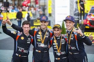 Thierry Neuville, Martijn Wydaeghe, Dani Sordo, Candido Carrera, Hyundai Motorsport