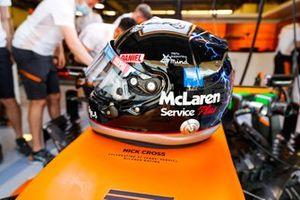 Le casque spécial de Daniel Ricciardo, McLaren