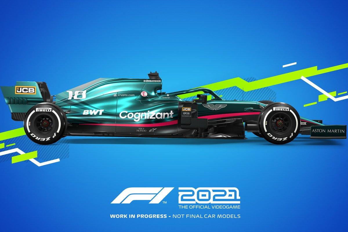 Decoración F1 2021 Aston Martin