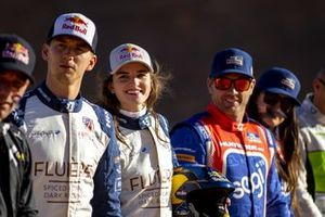 Catie Munnings, Andretti United Extreme E, Timmy Hansen, Andretti United Extreme E and Kyle Leduc, Chip Ganassi Racing