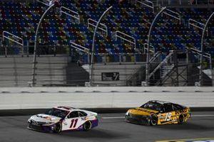 Denny Hamlin, Joe Gibbs Racing, Toyota Camry FedEx Express Martin Truex Jr., Joe Gibbs Racing, Toyota Camry DeWalt