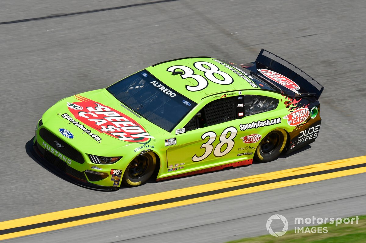 36. Anthony Alfredo, Front Row Motorsports, Ford Mustang