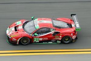 #21 Af Corse Ferrari 488 GT3, GTD: Nicklas Nielsen, Daniel Serra, Matteo Cressoni, Simon Mann