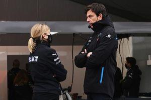 Susie Wolff, Team Principal, Venturi, Toto Wolff, Team Principal, CEO, Mercedes AMG