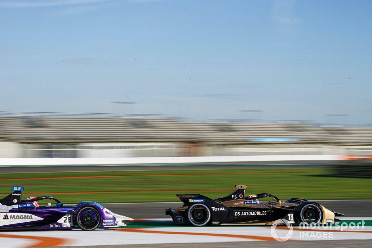 Antonio Felix da Costa, DS Techeetah, DS E-Tense FE20, Maximilian Gunther, BMW I Andretti Motorsports, BMW iFE.21