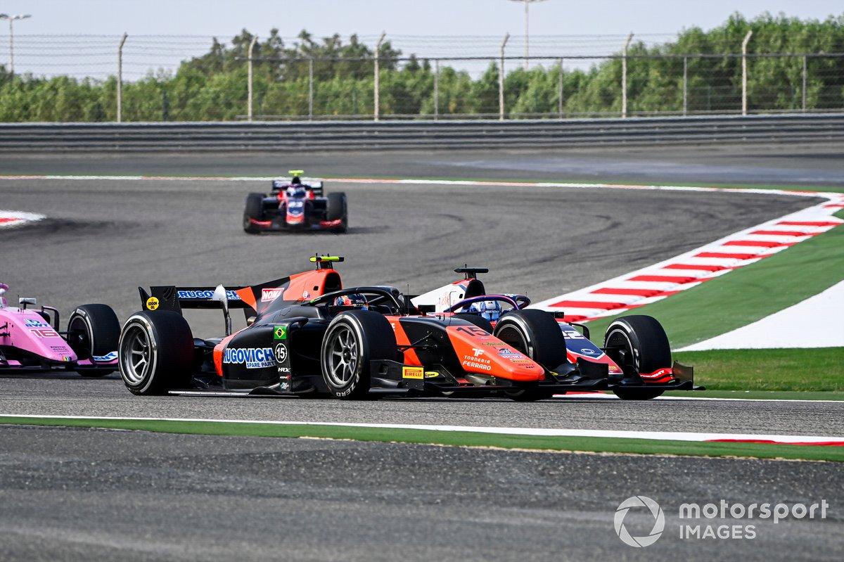 Felipe Drugovich, MP Motorsport e Roy Nissany, Trident