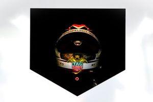 Helm: Pascal Wehrlein, Tag Heuer Porsche