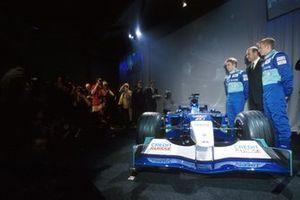 Kimi Raikkonen, Sauber con Nick Heidfeld, Sauber