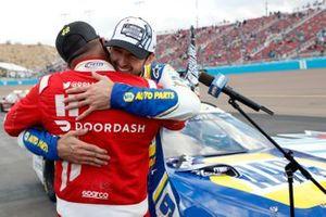 NASCAR Cup-Champion 2020: Chase Elliott, Hendrick Motorsports, mit Darrell Wallace Jr., Richard Petty Motorsports