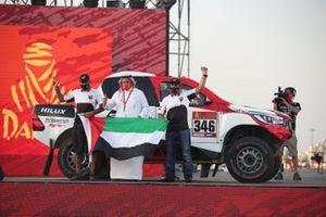 #346 Khalid Aljafla Toyota: Khalid Aljafla, Ali Mirza