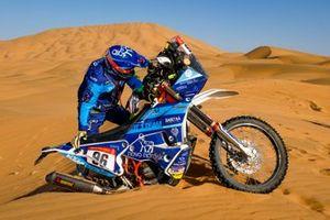 #96 Team Un Diabetico En El Dakar KTM: Daniel Albero Puig