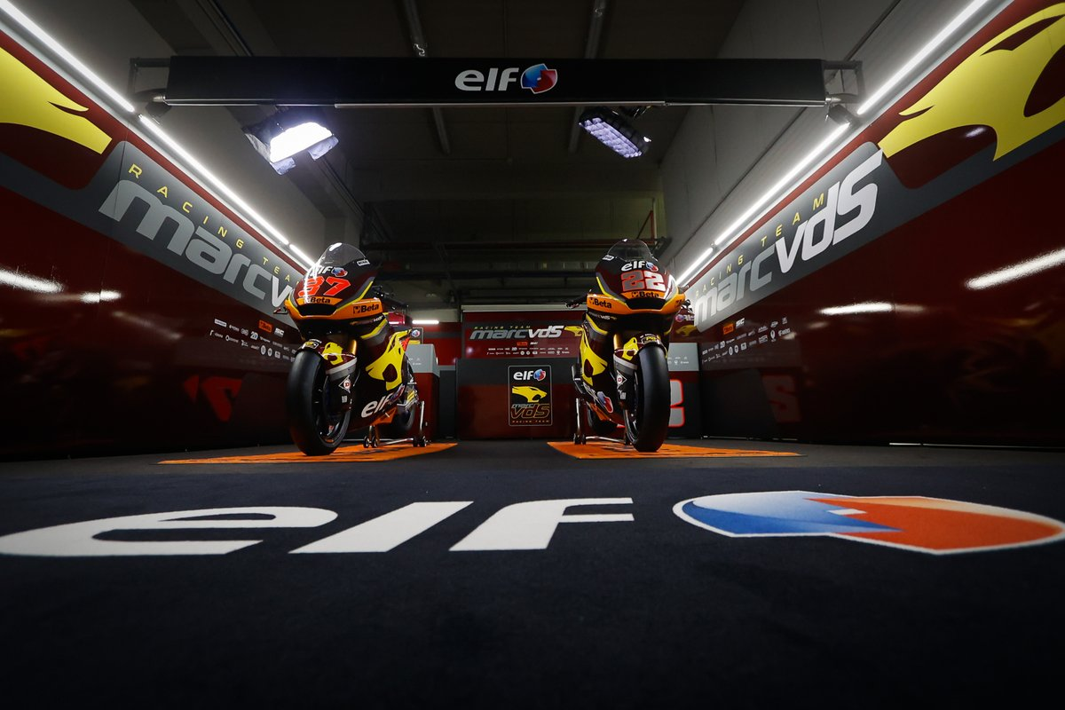 Motos Sam Lowes and Augusto Fernandez, Marc VDS Racing