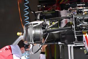 Alfa Romeo Racing C39 front brake detail