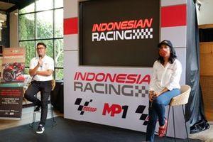 CEO di MP1, Ricky Soerapoetra e Amministratore delegato di MP1, Ance Dewianti