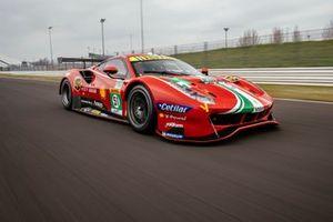 #51 AF Corse: Alessandro Pier Guidi, James Calado, Ferrari 488 GTE Evo