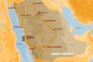 Dakar Route 2021