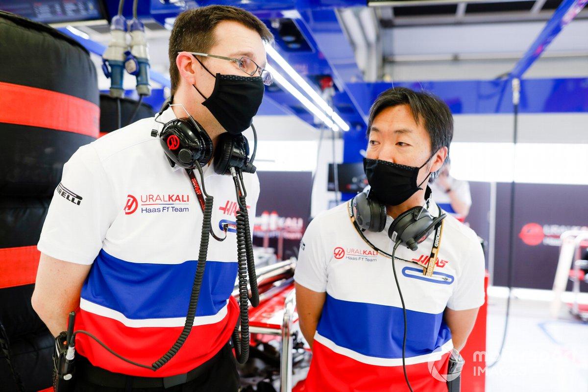 Айао Комацу, главный гоночный инженер Haas