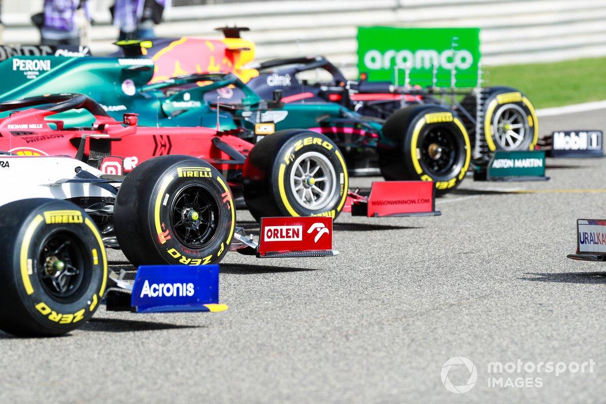 Les pneus Pirelli sur les monoplaces