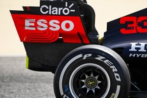 Red Bull Racing RB16B rear wing detail