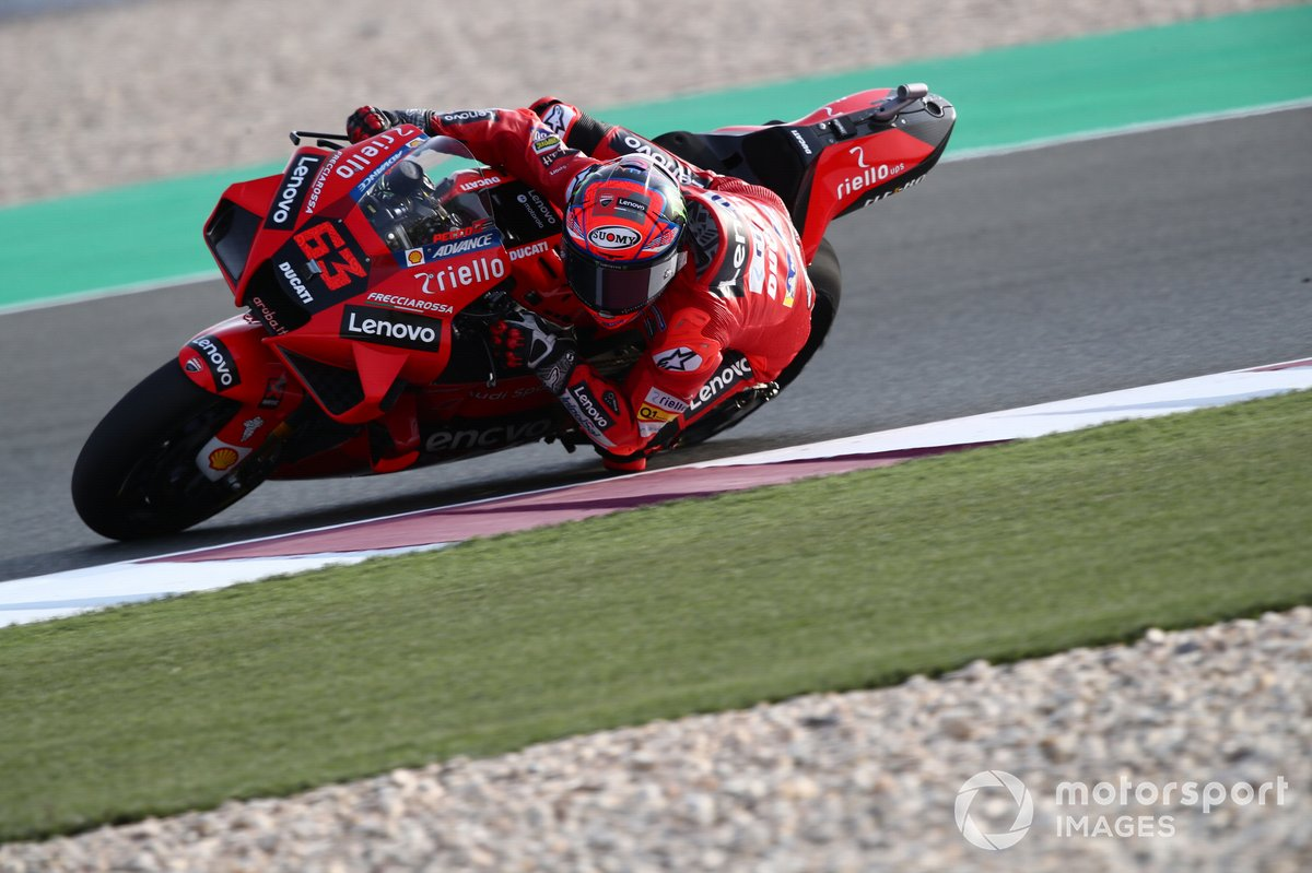 5º Francesco Bagnaia, Ducati Team - 1:53.444