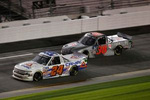 Raphael Lessard, GMS Racing, Chevrolet Silverado CANAC, Todd Gilliland, Front Row Motorsports, Ford F-150 Frontline