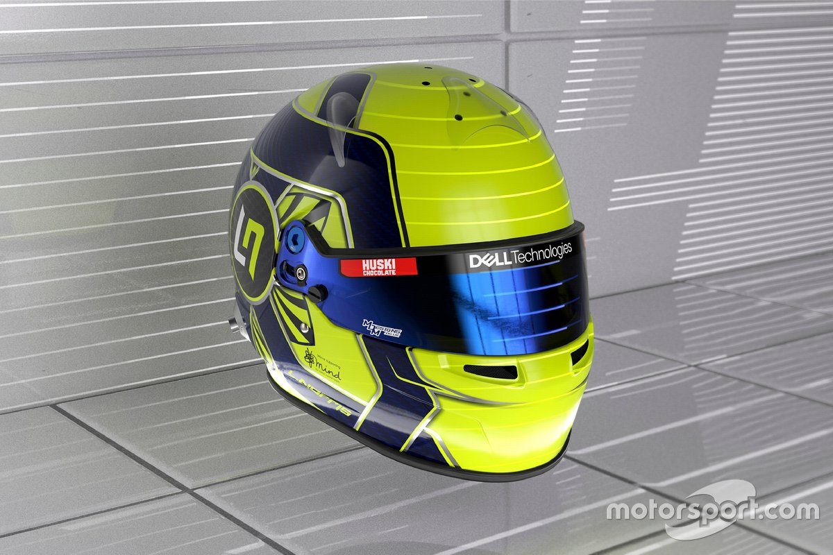 Casque de Lando Norris, McLaren
