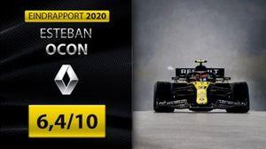 Eindrapport Formule 1 2020: Esteban Ocon, Renault