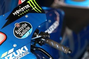 Bike of Alex Rins, Team Suzuki MotoGP