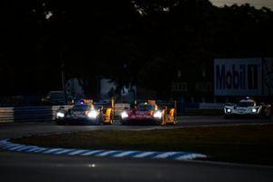 #31 Action Express Racing Cadillac DPi: Felipe Nasr, Pipo Derani, Mike Conway, #5 JDC/Miller MotorSports Cadillac DPi: Tristan Vautier, Sebastien Bourdais, Loic Duval