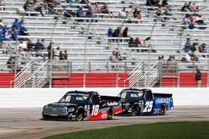 Chandler Smith, Kyle Busch Motorsports, Toyota Tundra Safelite Auto Glass, Timothy Peters, Rackley W.A.R., Chevrolet Silverado Rackley Roofing