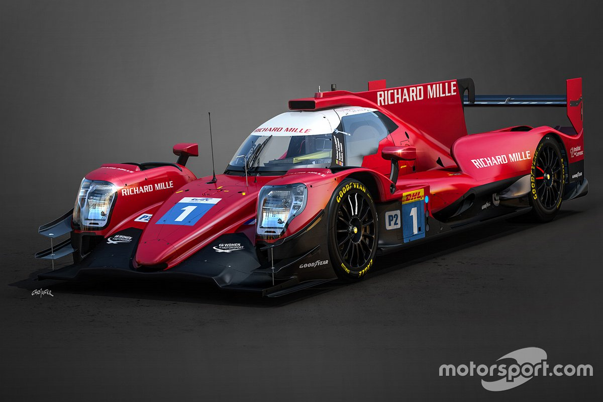 Livrée de Richard Mille Racing en LMP2