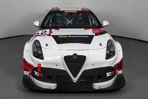 Alfa Romeo Giulietta TCR by Romeo Ferraris, Risi Competizione
