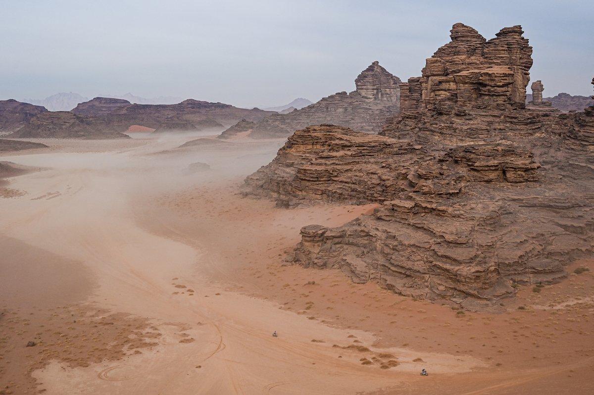 Ambiente de la etapa 10 del Dakar 2021