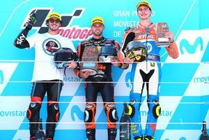 Francesco Bagnaia, Sky Racing Team VR46, Brad Binder, Red Bull KTM Ajo, Lorenzo Baldassarri, Pons HP40