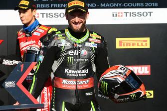 Tom Sykes, Kawasaki Racing logra la pole