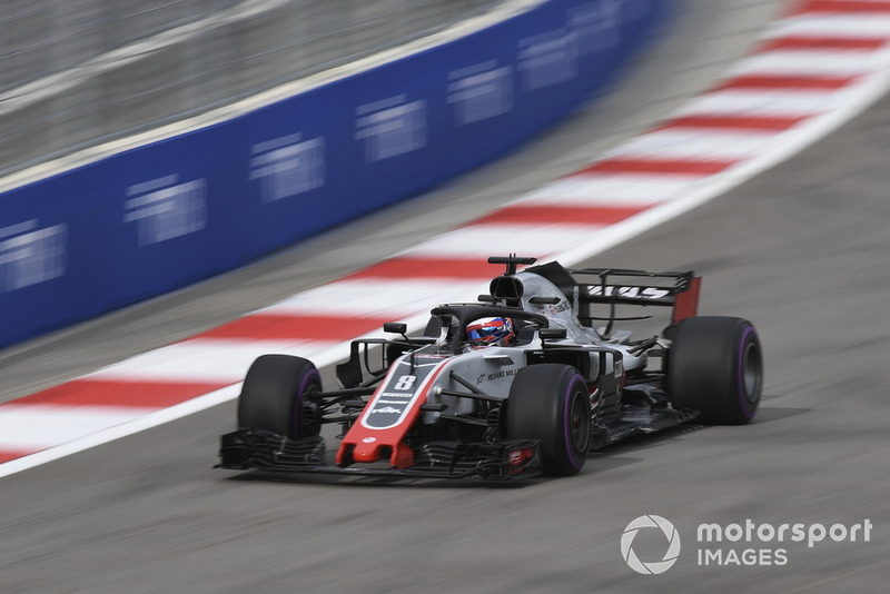 9. Romain Grosjean, Haas F1 Team VF-18