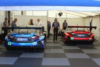 #14 3GT Racing Lexus RCF GT3, GTD: Dominik Baumann, Kyle Marcelli #15 3GT Racing Lexus RCF GT3, GTD: Jack Hawksworth, David Heinemeier Hansson