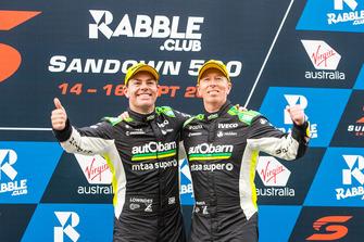 Podium: third place Craig Lowndes, Steven Richards, Triple Eight Race Engineering Holden