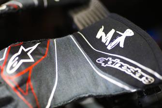 Handschoenen van Kevin Magnussen, Haas F1 Team
