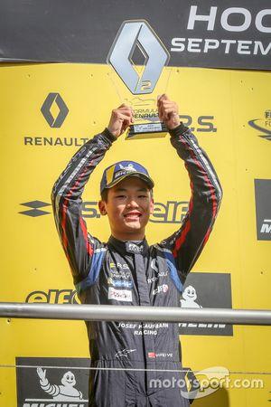 Podium: Yifei Ye, Josef Kaufmann Racing
