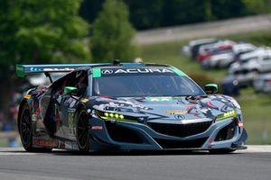 #86 Michael Shank Racing con Curb-Agajanian Acura NSX, GTD - Katherine Legge, Alvaro Parente