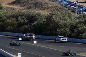Charlie Kimball, Carlin Chevrolet, James Hinchcliffe, Schmidt Peterson Motorsports Honda