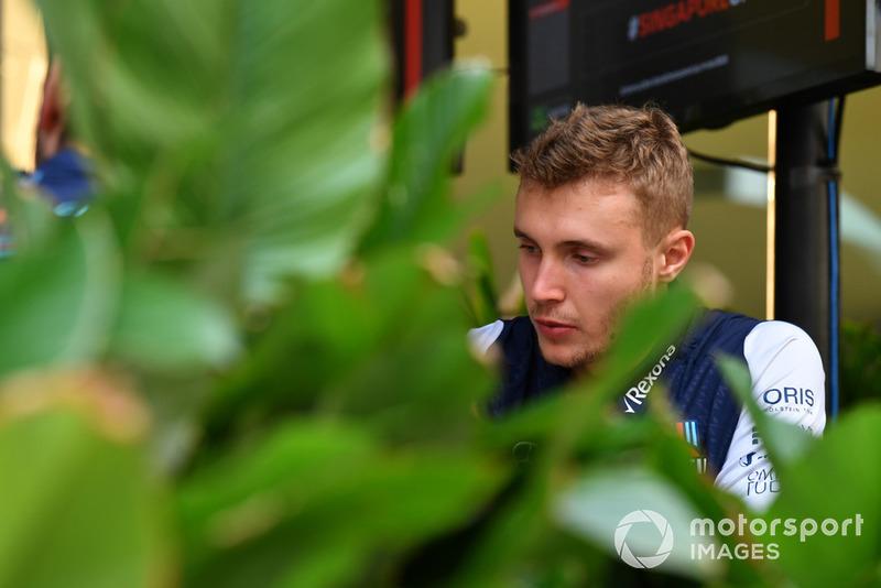 Сергій Сироткін, Williams Racing