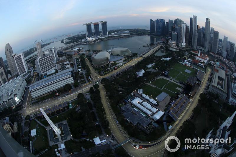 F1 2018 - Szingapúri Nagydíj - csütörtök