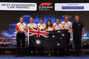 Best Engineered Car Award winners with Dave Redding, Williams F1